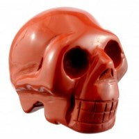 Jasper Red Skull-Miss V's Luminous Crystals