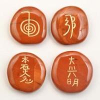 Reiki Set Jasper Red-Miss V's Luminous Crystals