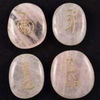 Reiki Set Rose Quartz-Miss V's Luminous Crystals