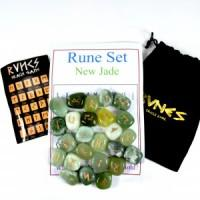 Rune Stones Jade New-Miss V's Luminous Crystals