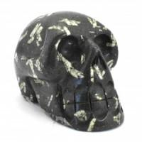 Chinese Writing Stone Skull-Miss V's Luminous Crystals