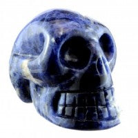 Sodalite Skull-Miss V's Luminous Crystals