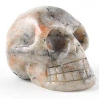Sunstone Skull-Miss V's Luminous Crystals