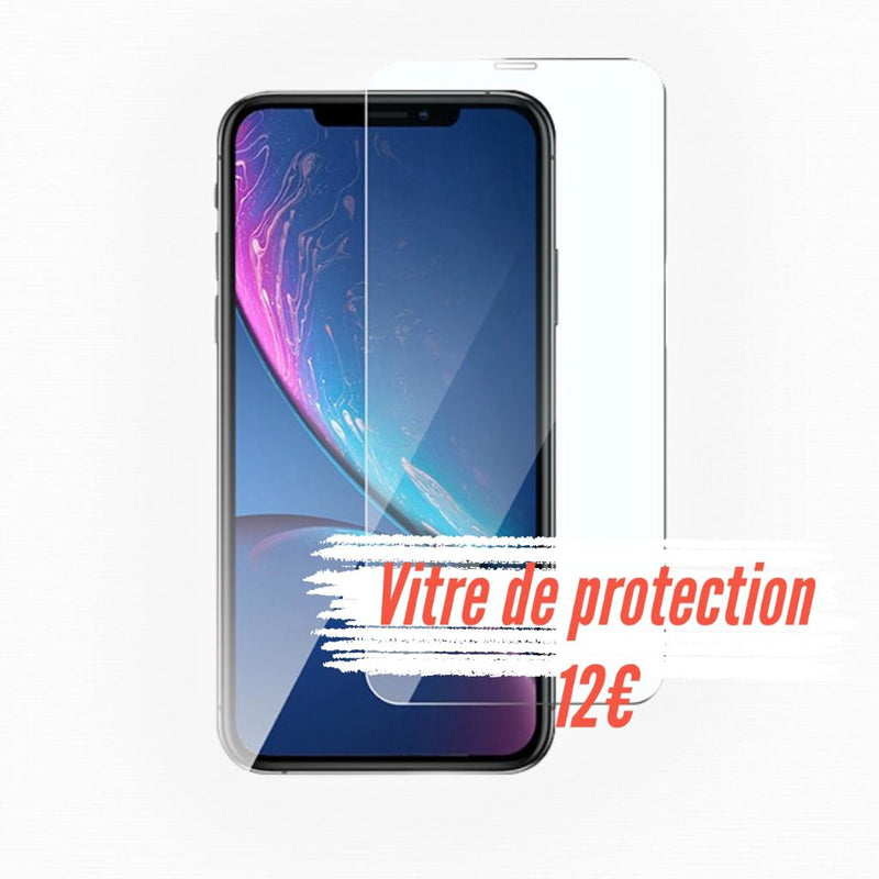 Vitre de protection en verre trempé iPhone