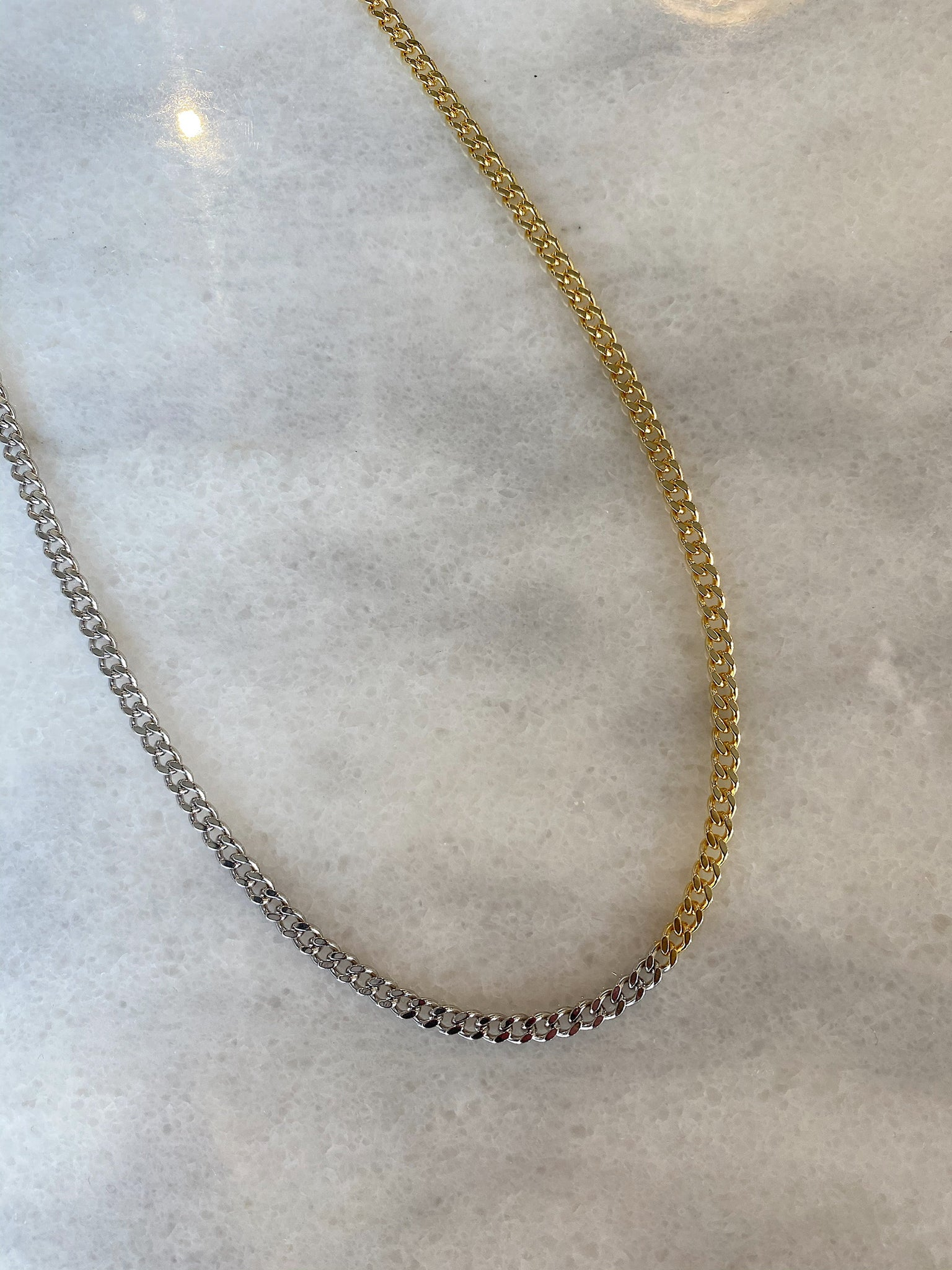 Sterling Silver Chloe Necklace