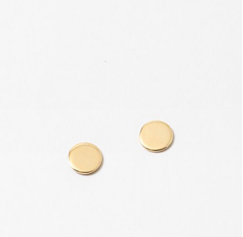 Coin Gold Earring