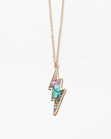 Avalon Lightning Bolt Necklace