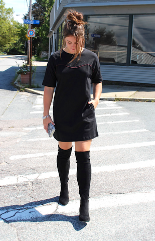 Caelyn Tee Shirt Dress