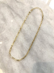 Kaitlyn Sterling Silver Chain Choker Necklace