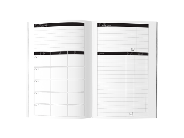 The Minimalist Planner - Undated - Shanti + Co.