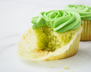 Key Lime Cupcakes with Key Lime Frosting
