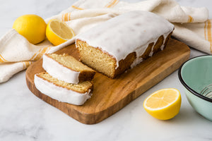 Lemon Pound Cake with Lemon Glaze