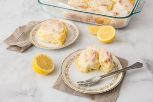 Lemon Sweet Rolls with Cream Cheese Icing