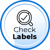 check labels