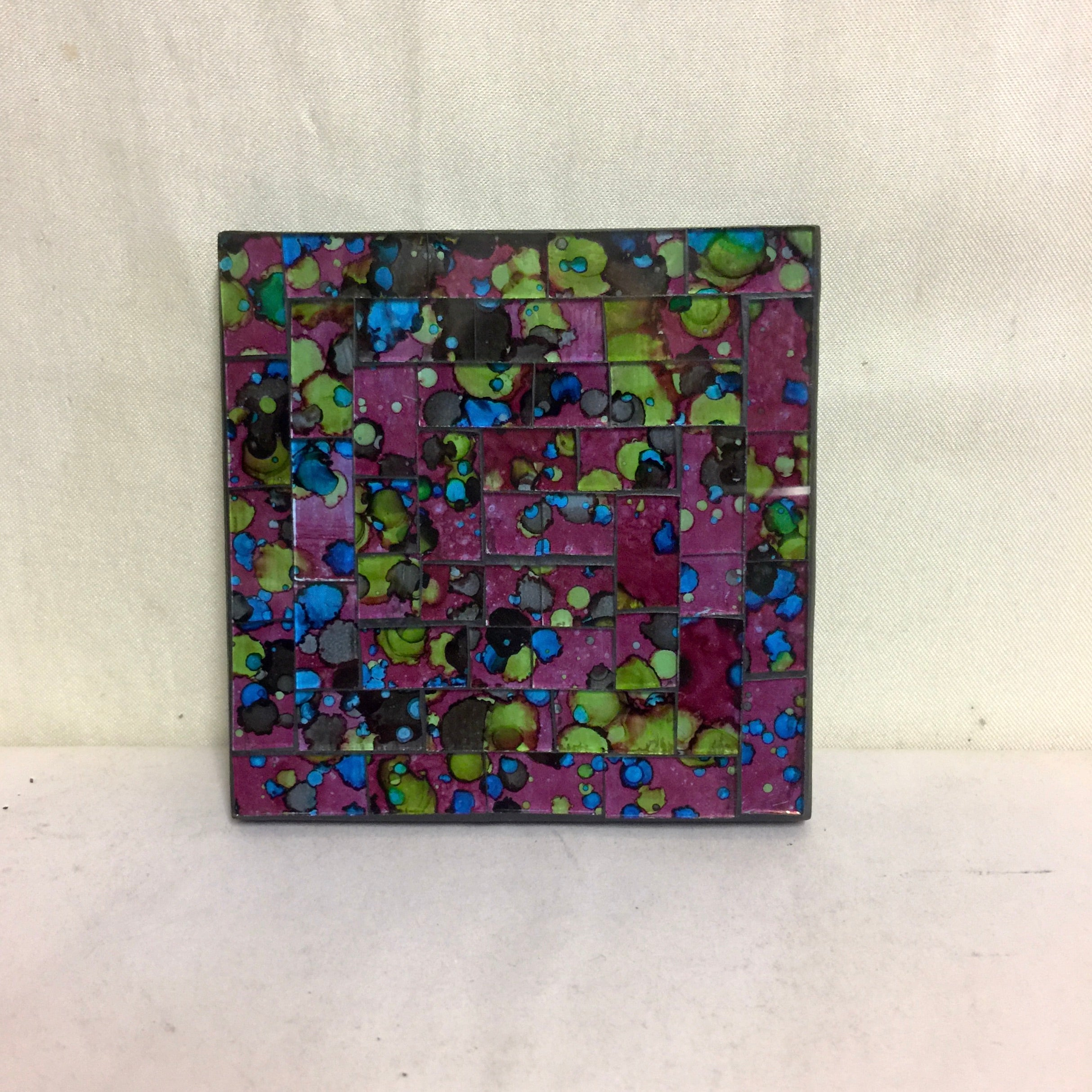 Mosaic - Purple Mix Coaster