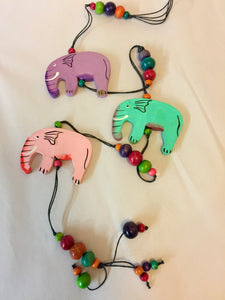 Hanging Decoration - Elephants