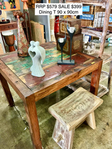 Reclaimed Boat - Table
