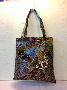 Patchwork Bag with Bow