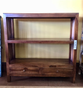 Teak - Shelves with Drawers