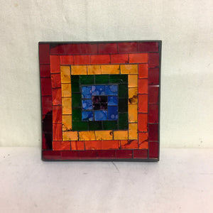 Mosaic - Multi Coloured Large Coaster