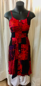 Patchwork Dress - Size Small