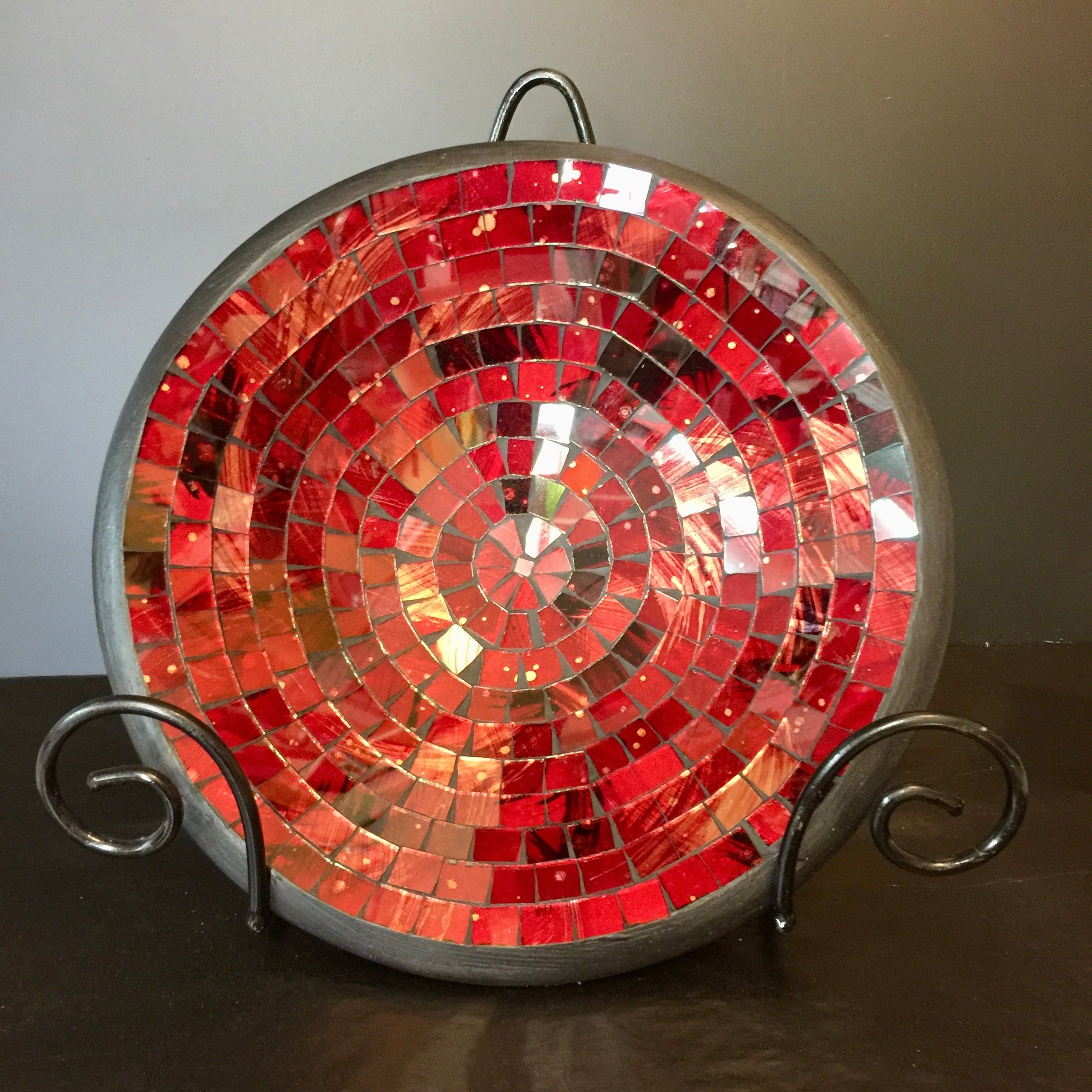 Mosaic - Red Mix Bowl