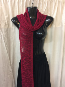Scarf - Go Plain in Red