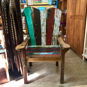 Reclaimed Boat - Chair