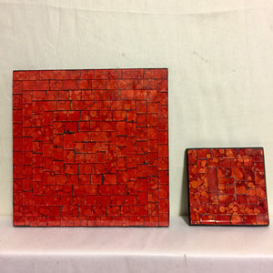 Mosaic - Orange Coaster DLE