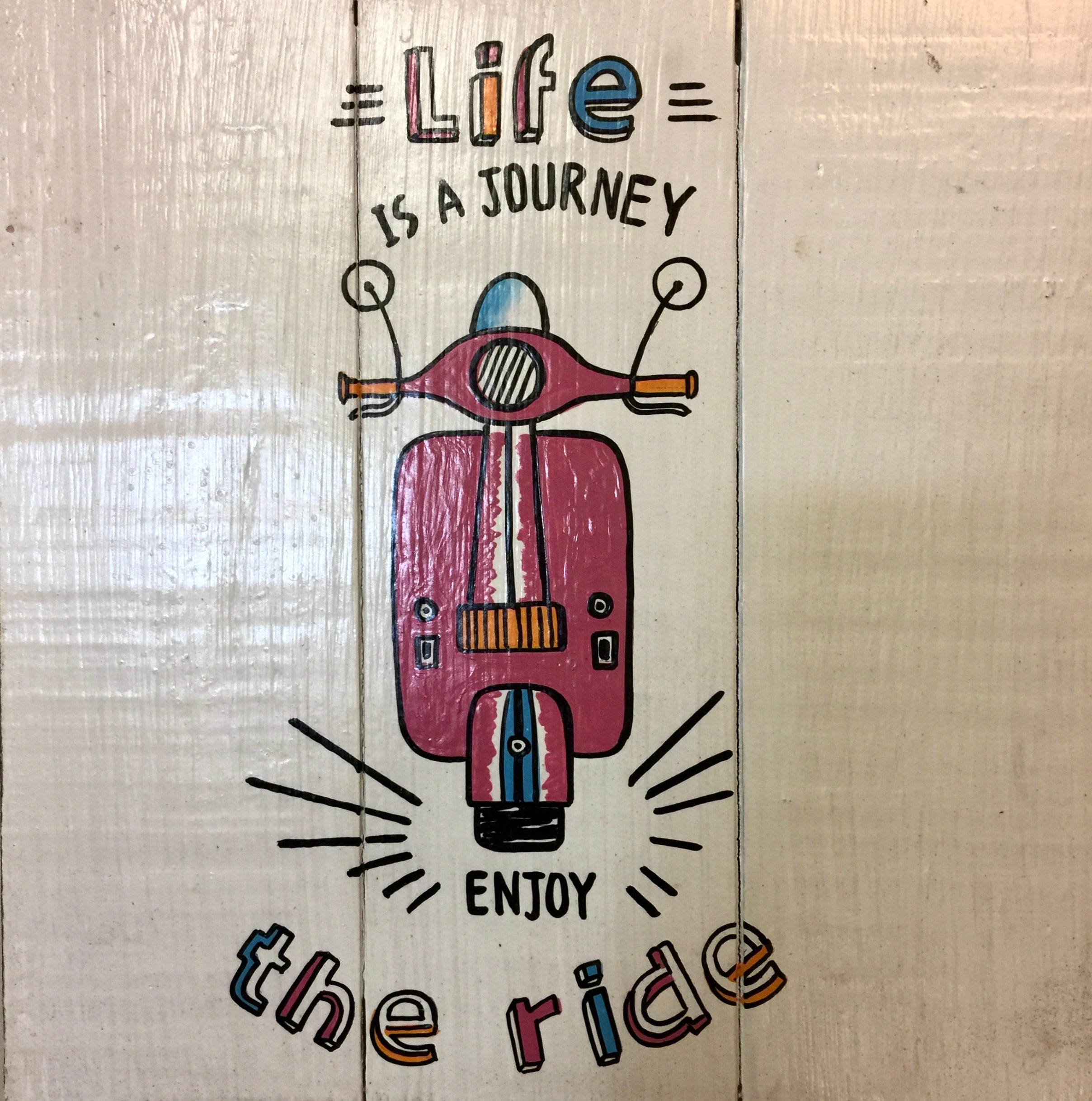 Sign: Life is a Journey ...