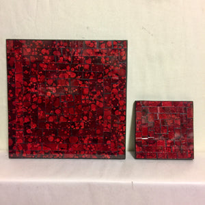 Mosaic - Red Coaster