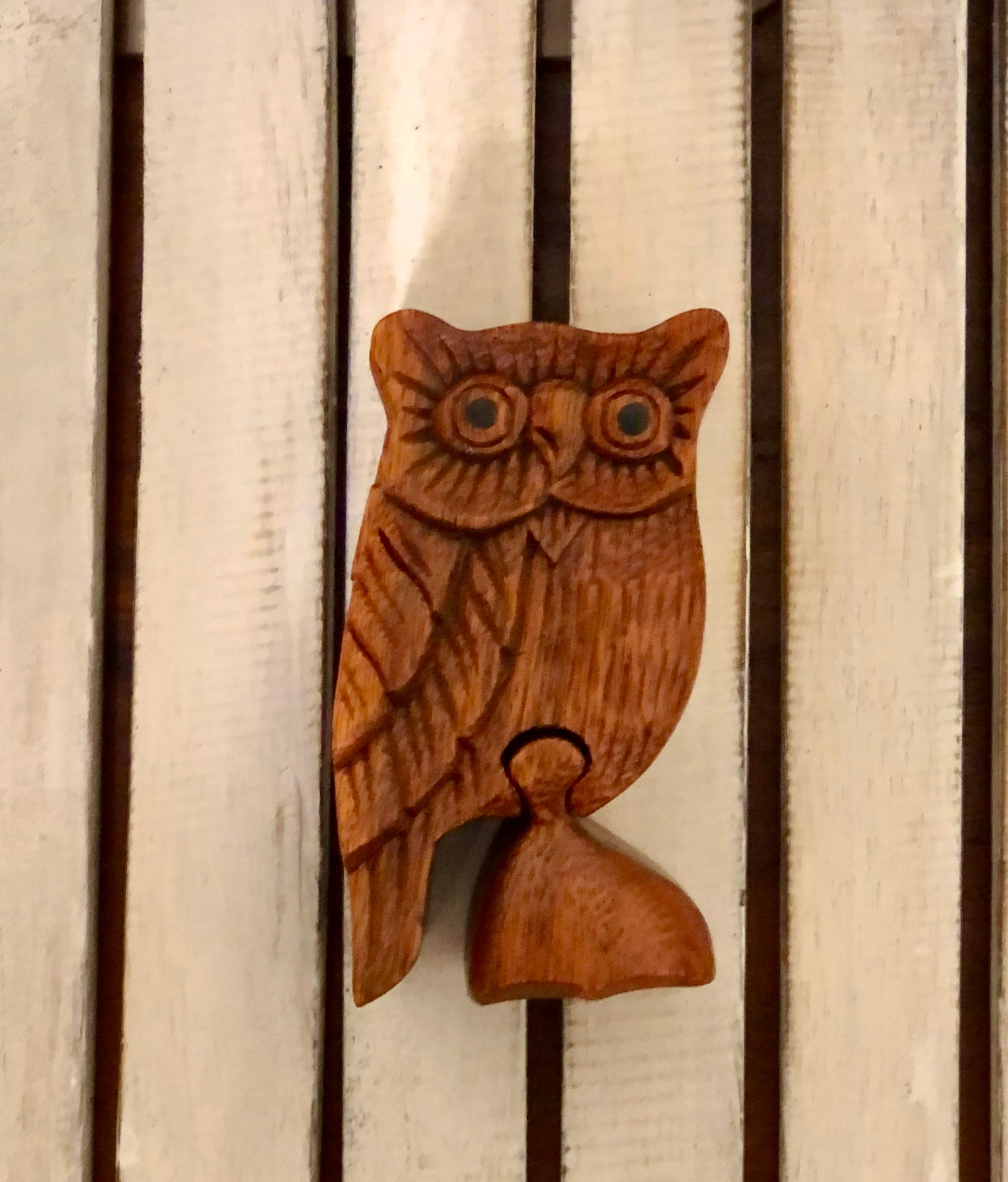 Jewellery Puzzle Box - Owl