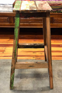 Reclaimed Boat - Bar Stool