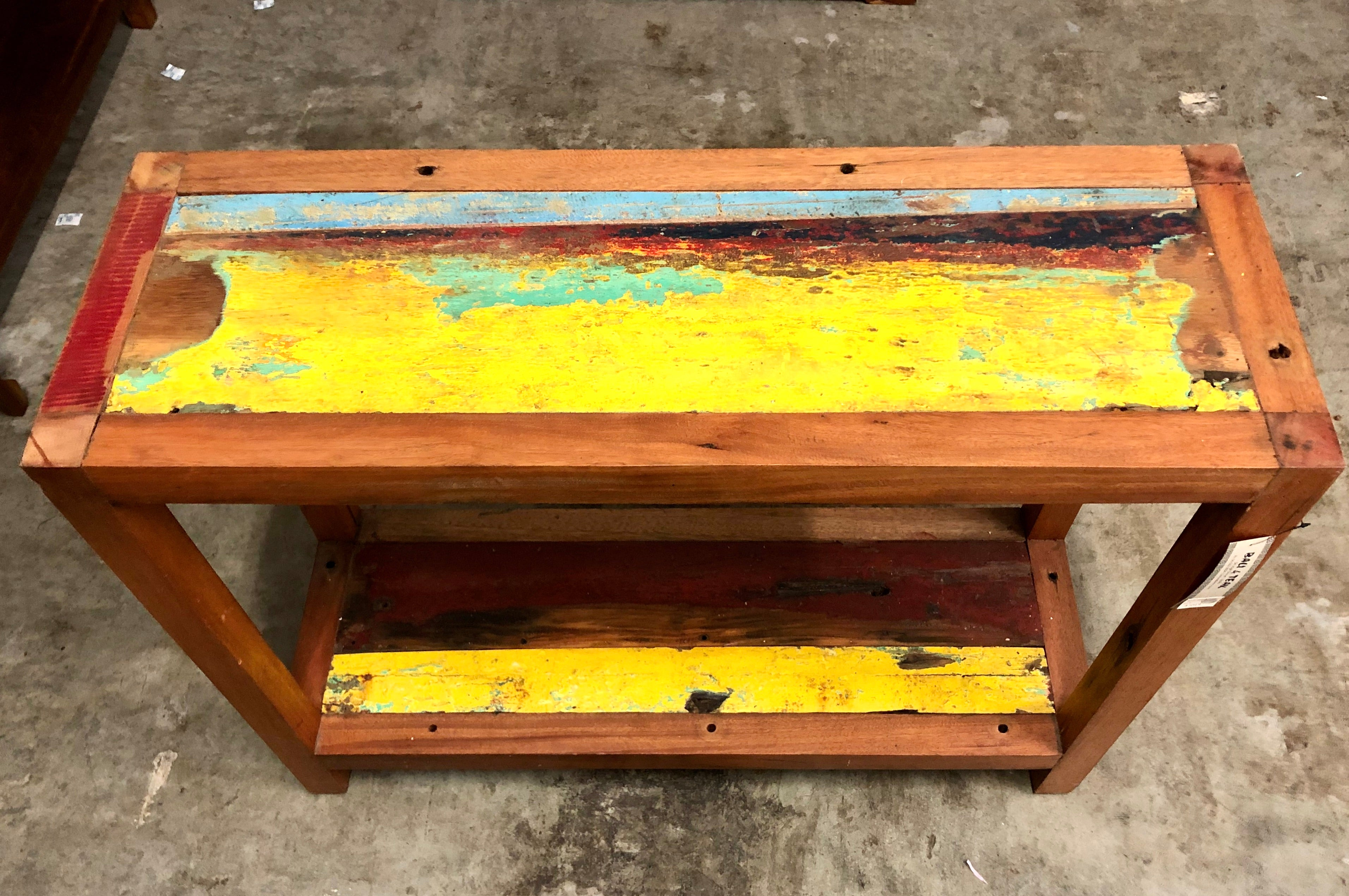 Reclaimed Boat - Consul Table