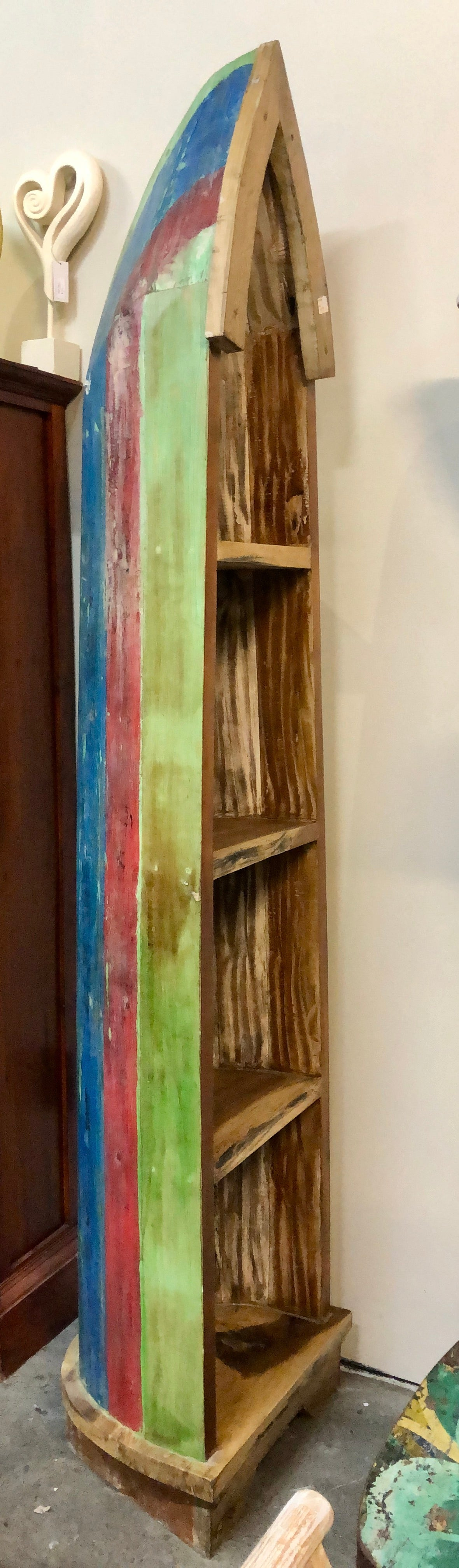 Reclaimed Boat - Shelf
