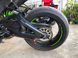 Kawasaki ZX-10R 2016+ Swingarm Covers Protectors in Carbon Fiber