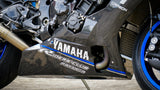 Yamaha R1 R1M Carbon Fiber Race Belly Pan Lower Fairings