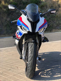 BMW S1000RR 2020 Windshield Carbon - Clear Glass