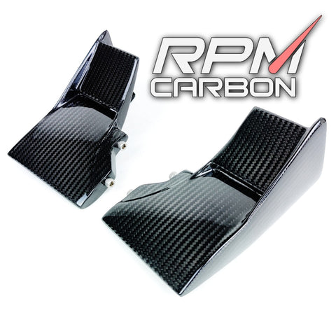Kawasaki H2 Carbon Fiber Lower Winglets