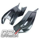 BMW S1000RR S1000R Carbon Fiber Swingarm Covers Protection