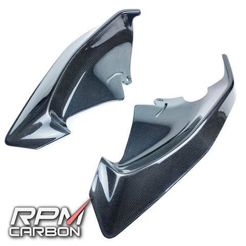 Ducati Panigale V4 Carbon Fiber Upper Side Fairings