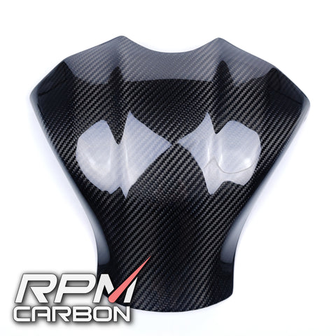 Yamaha R1 2015 Carbon Fiber Tank Cover protector by RPM Carbon