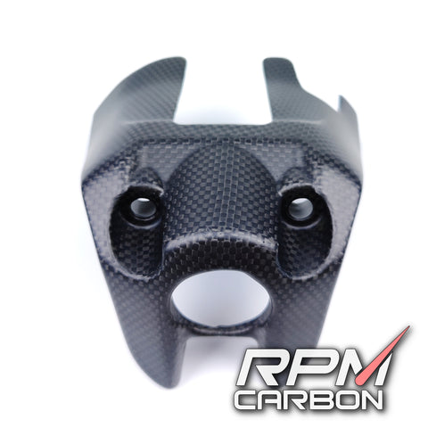 Ducati Monster 821 Carbon Fiber Key Ignition Cover