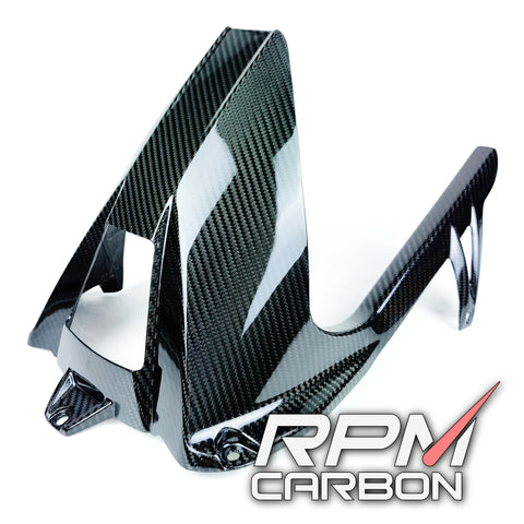 BMW S1000RR / S1000R Carbon Fiber Rear Fender Chain Guard Hugger Mudguard