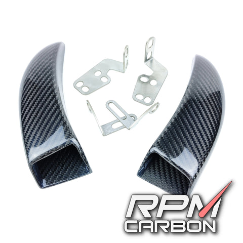carbon Fiber GP Style Brake Disk Cooler Air Duct
