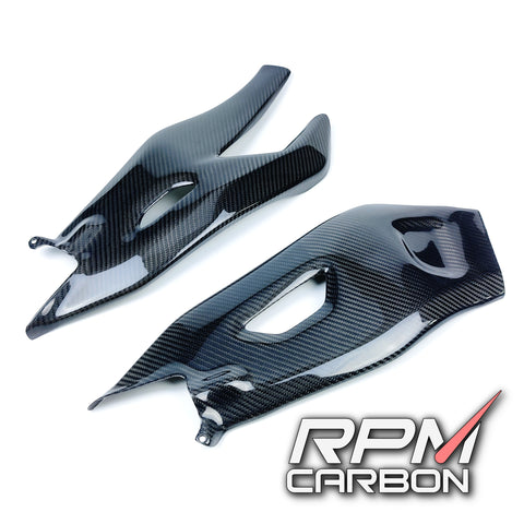 Yamaha R1 Carbon Fiber Swingarm Covers Protectors