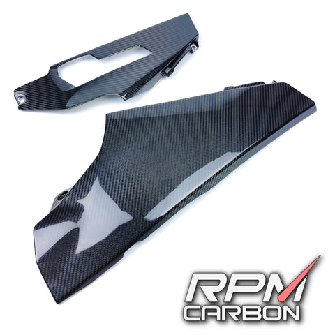Suzuki GSX-R1000 2017+ Carbon Fiber Lower Side Fairings