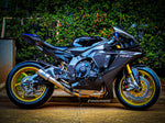 Yamaha R1 R1M 2020+ Carbon Fiber Upper Side Panels Fairings