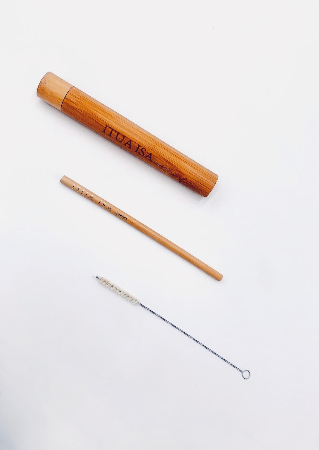 Itua Isa Eco Bamboo Drinking Straw Kit