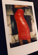 Load image into Gallery viewer, The Vegan Leather Angelina Skirt